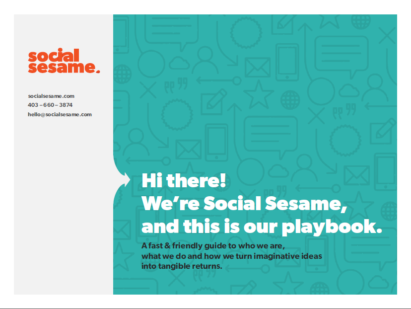 Social Sesame Playbook
